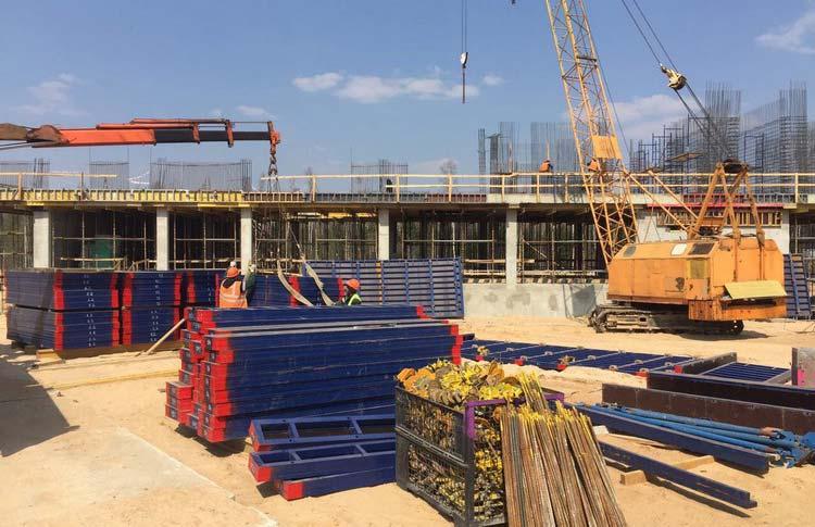 Строительство VIP терминала в национальном аэропорту Минск-2