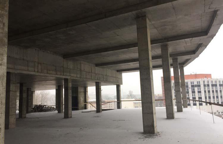 Строительство гостиничного комплекса