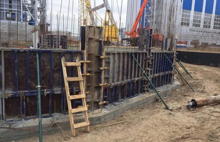 Строительство горно-обогатительного комбината